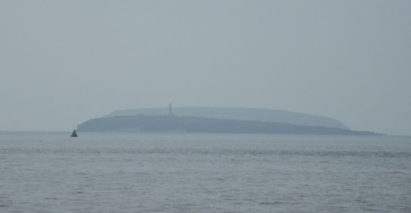 Approach of Flat Holm