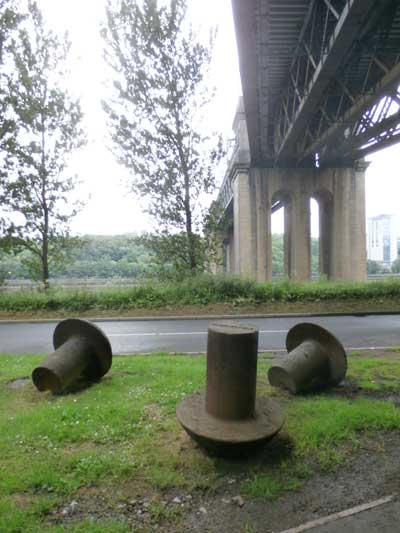 Andrew McKeown's 'Riverside Rivets' (2010). Photo: Jill Payne
