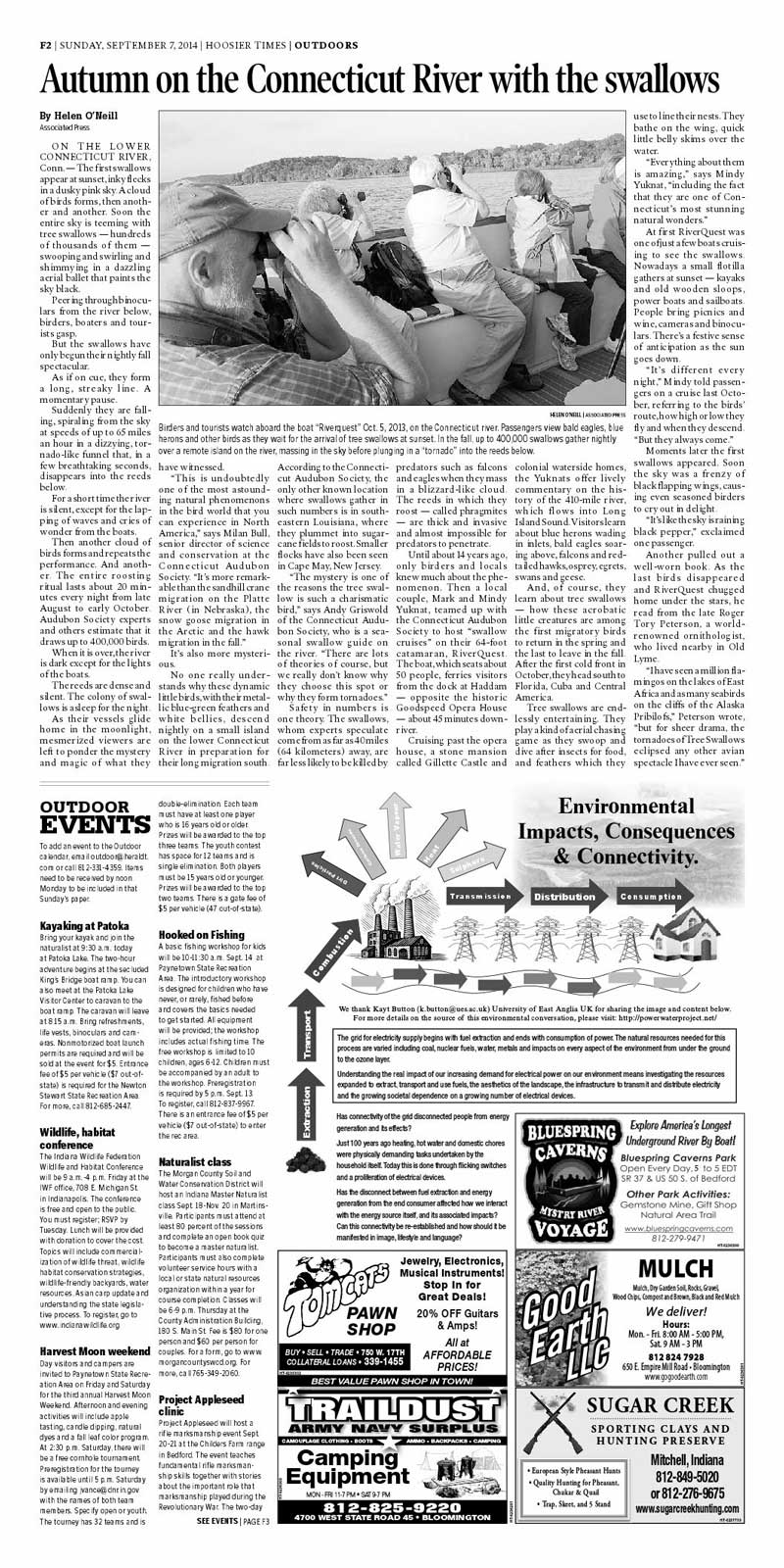 Hoosier Times article